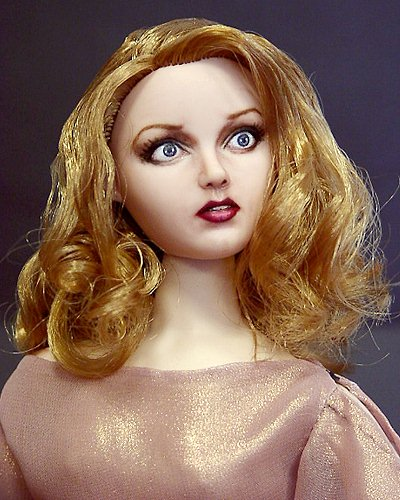Darrow >> Fay Wray - a Faces by Adrian fashion doll repaint